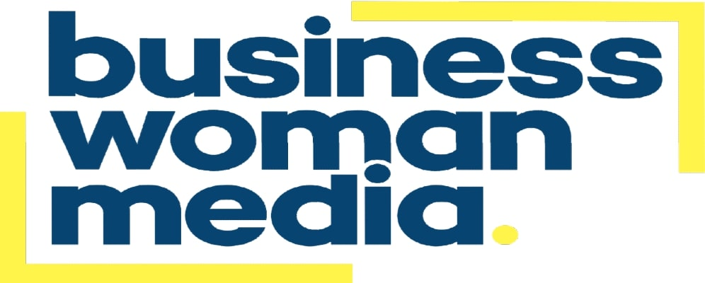 business woman media logo